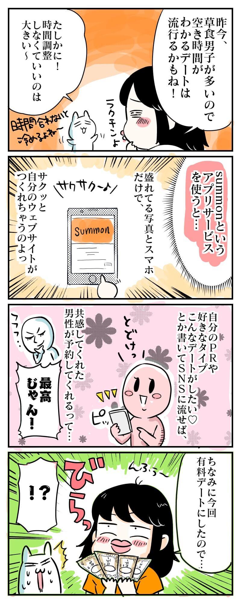 アラサーsns恋活マンガ6