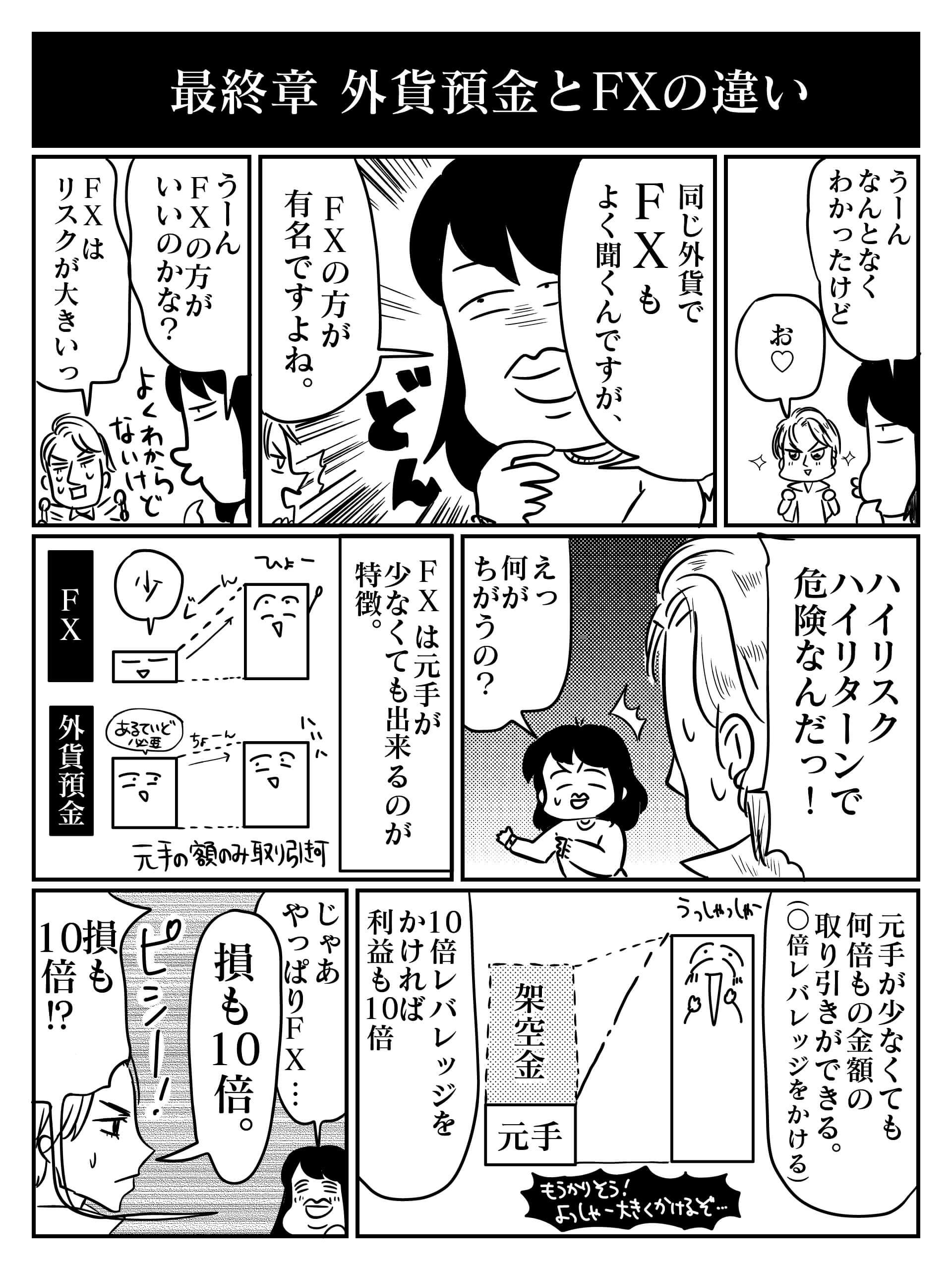 外貨預金漫画5